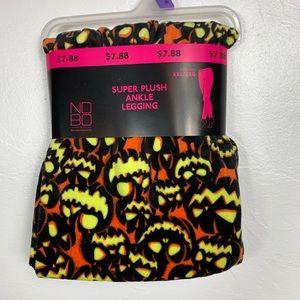 Legging Halloween Jack-O-Lantern Pumpkins Plush